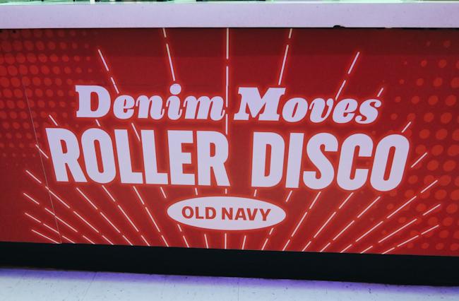 Old Navy Roller Disco