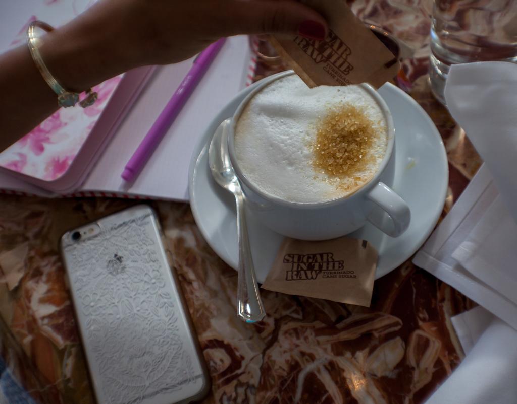 botega louie cappuccino sugar raw