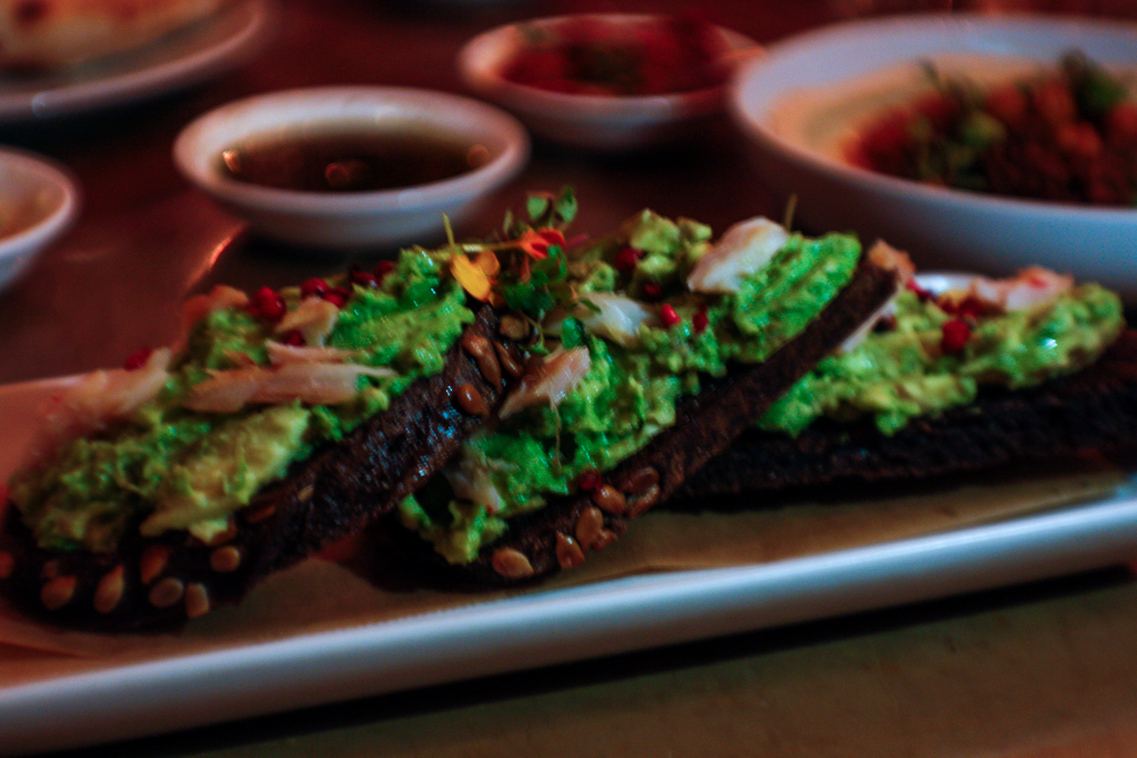 nola new orleans shaya avocado toast
