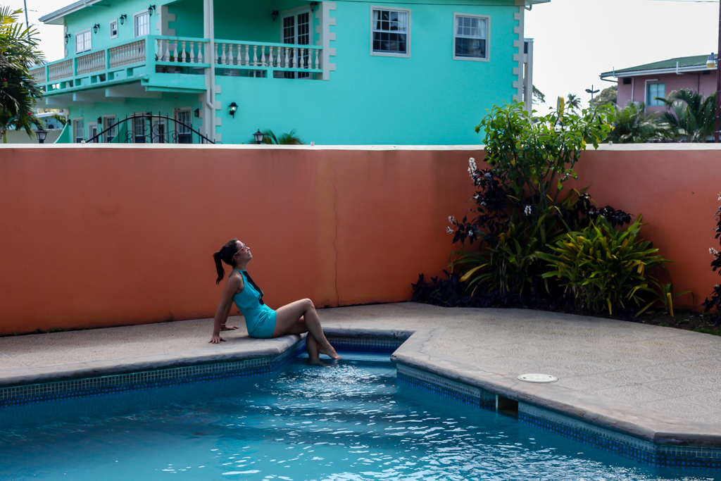 tobago trinidad girl pool