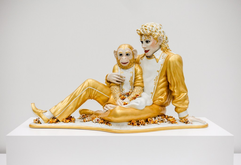 jeff koons michael jackson sculpture