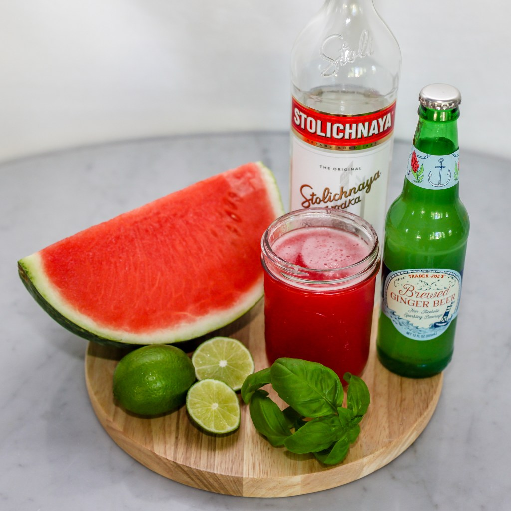 ginger beer lime homemade happy hour