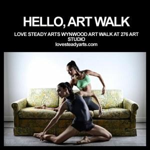Sasha Caicedo and Brigette Cormier at 276 Art Studio Photo: Amadeus M. Photo