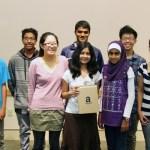 Teen writing contest winners