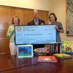 Santa Clara Rotarians Support the Library