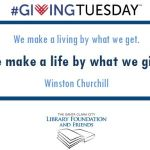 It's #GivingTuesday!!