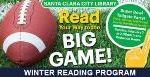 Sign up for the winter reading program!