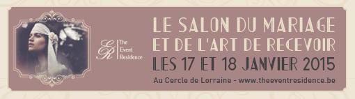 Le salon du mariage the event residence d co tea time des ann es 20 concours love tralala - Salon du mariage de bruxelles ...