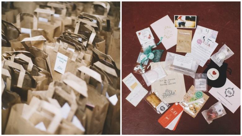 Lovetralala Kiss The Bride Festival 2015 - Les goodies bag sont des kits de survie pour les futures mariées