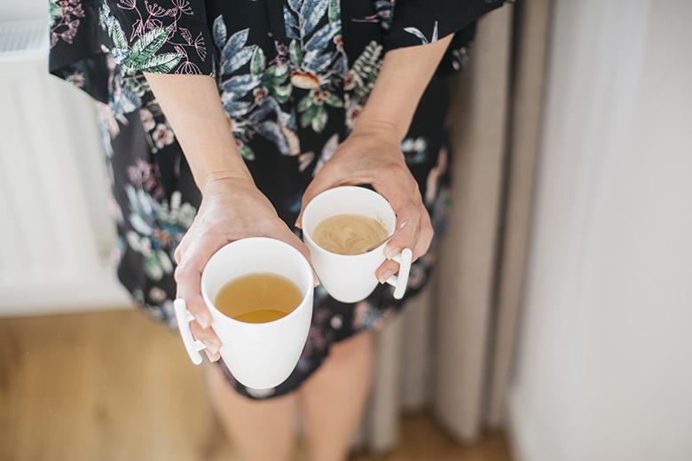 Lovetralala_ma routine matinale, thé et café