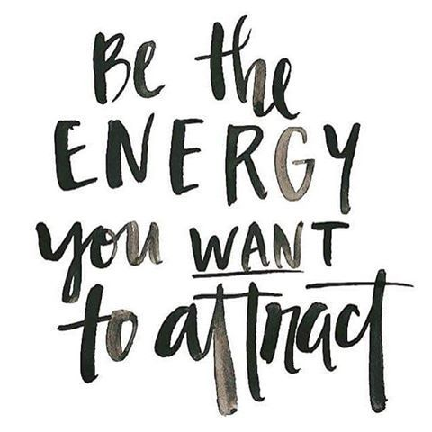 lovetralala_citation joyeuse_be the energy you want to attract