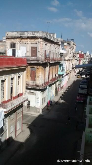 The view from Casa Mirador, Havana