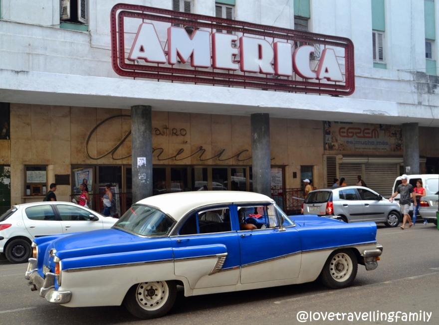 America, Galiano, Havana