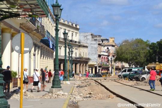In front of Inglaterra, Havana