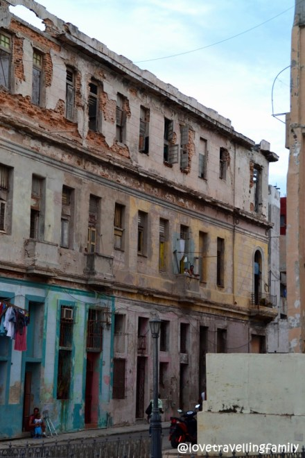 Old buildings Malecon