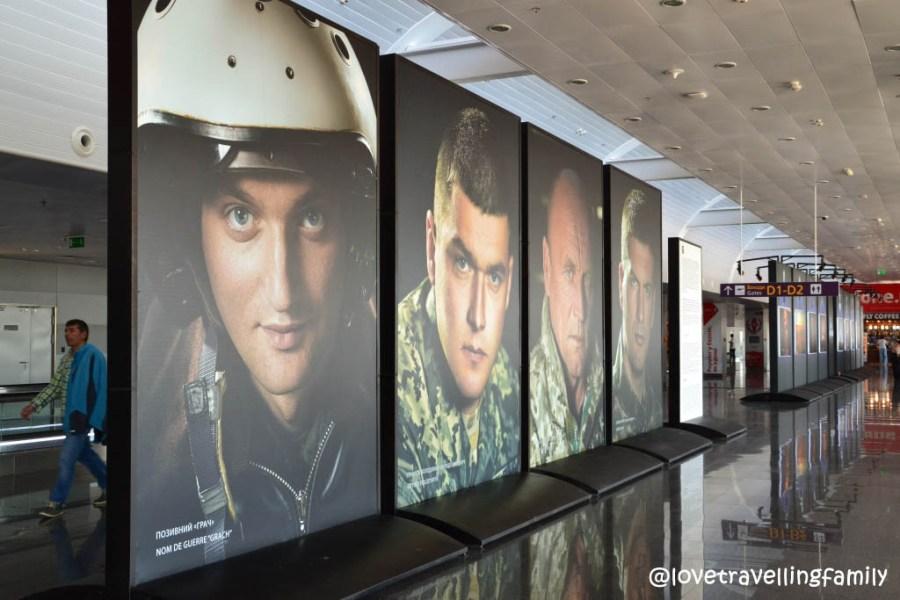 Exhibition 16, Kiev airport