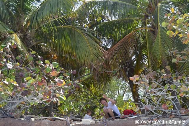 Playa Las Salinas, Love travelling family in Cuba