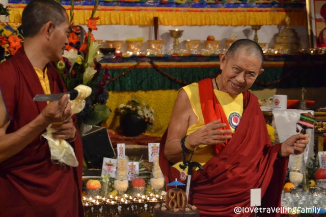 80th birthday of the Tibetan Buddhist teacher Garchen Rinpoche