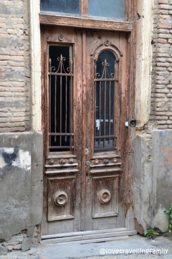 Entrance door, Old Town, Tbilisi, Georgia