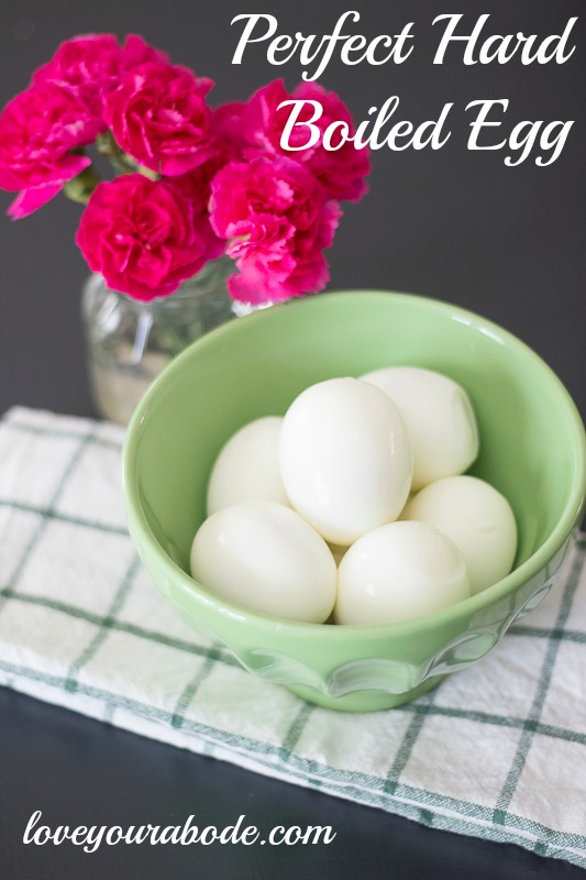 perfect hard boiled egg
