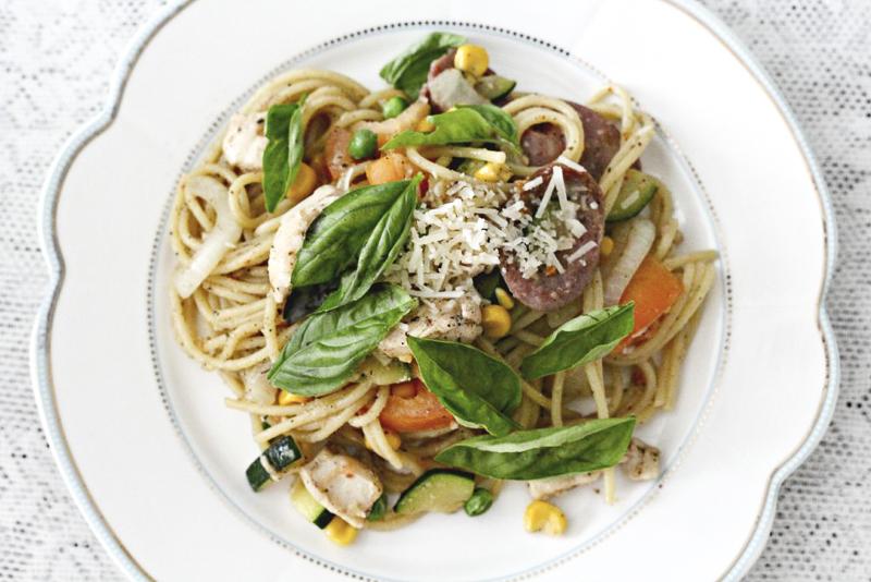 sausage-pasta-medley