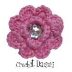 Crochet Daisies $1.05 each