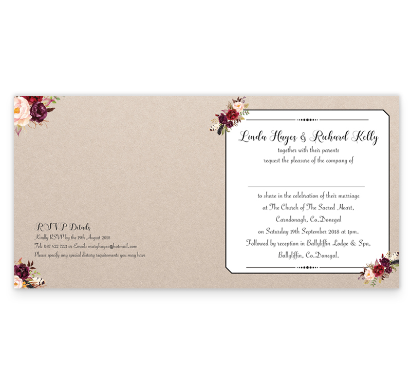 Wedding Invitations Co Donegal | Invitationswedd.org