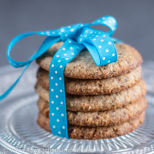 Low-Carb Hazelnut Butter Cookies
