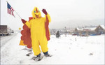 Chicken Man -- Credit to Kevin Kreck of Co. Springs Gazette