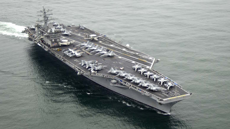 USS Nimitz (US Navy photo)