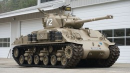 The M50 Sherman (photo by Auctions America)