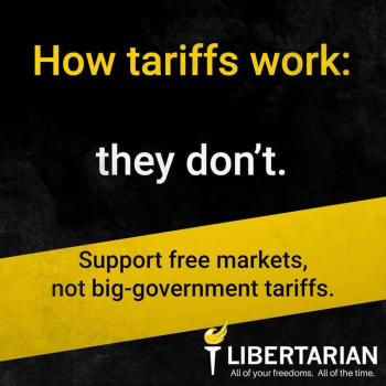 How tariffs work: they don't.