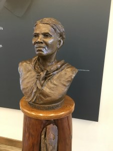 Tubman bust at UGRR Museum