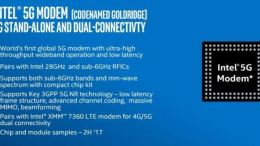 Intel announces Global 5G Modem at CES 2017