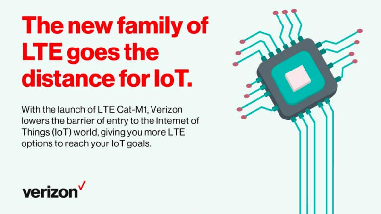 Verizon LTE Cat M1