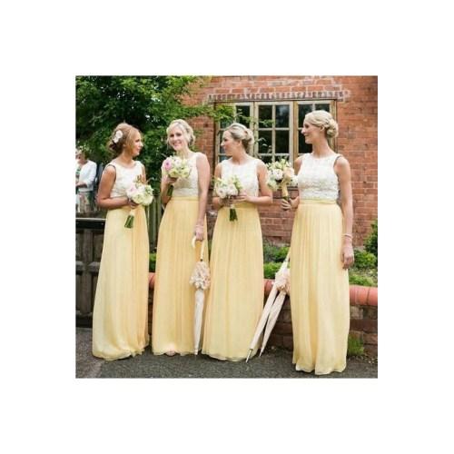 Medium Crop Of Yellow Bridesmaid Dresses