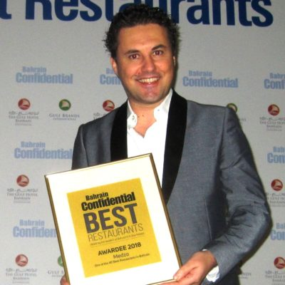 2Bahrain Confidential Awards 2018 - Best Restaurant