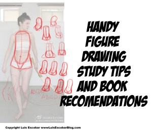 Handy figure drawing tips and book recommendations