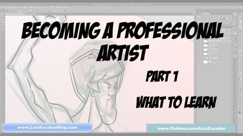 Becoming a Professiona Artist Part 01
