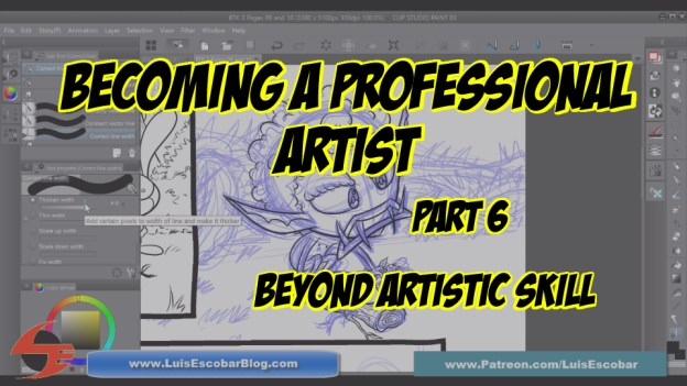 Becoming a Professiona Artist Part 06 Beyond Artistic Skill