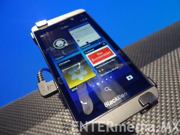 Blackberry Z10 llega a México el 20 de marzo