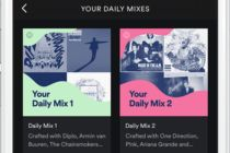 Daily Mix de Spotify