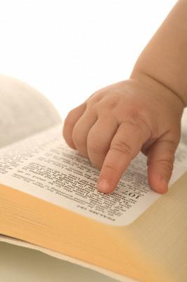 A criança da Bíblia