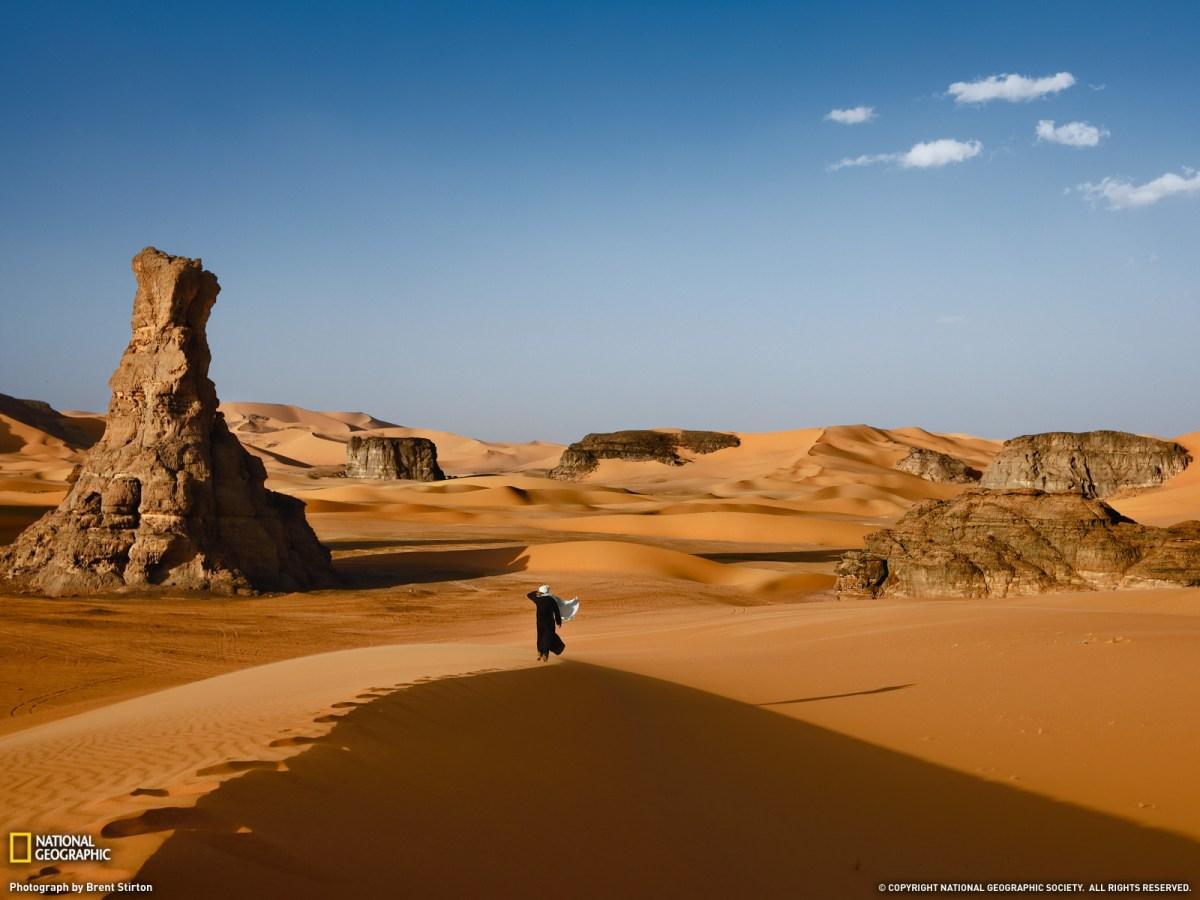 Para isto existem os desertos: para serem atravessados