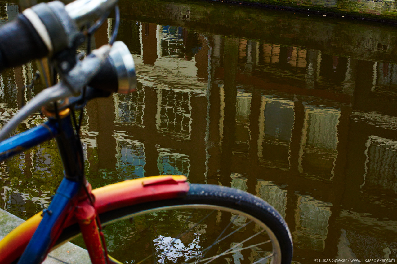 Amsterdam, city of bicycles.