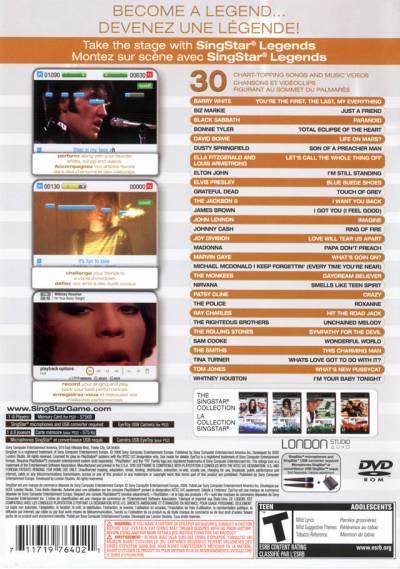 Singstar Playstation 2 Games Ps3 - filepride