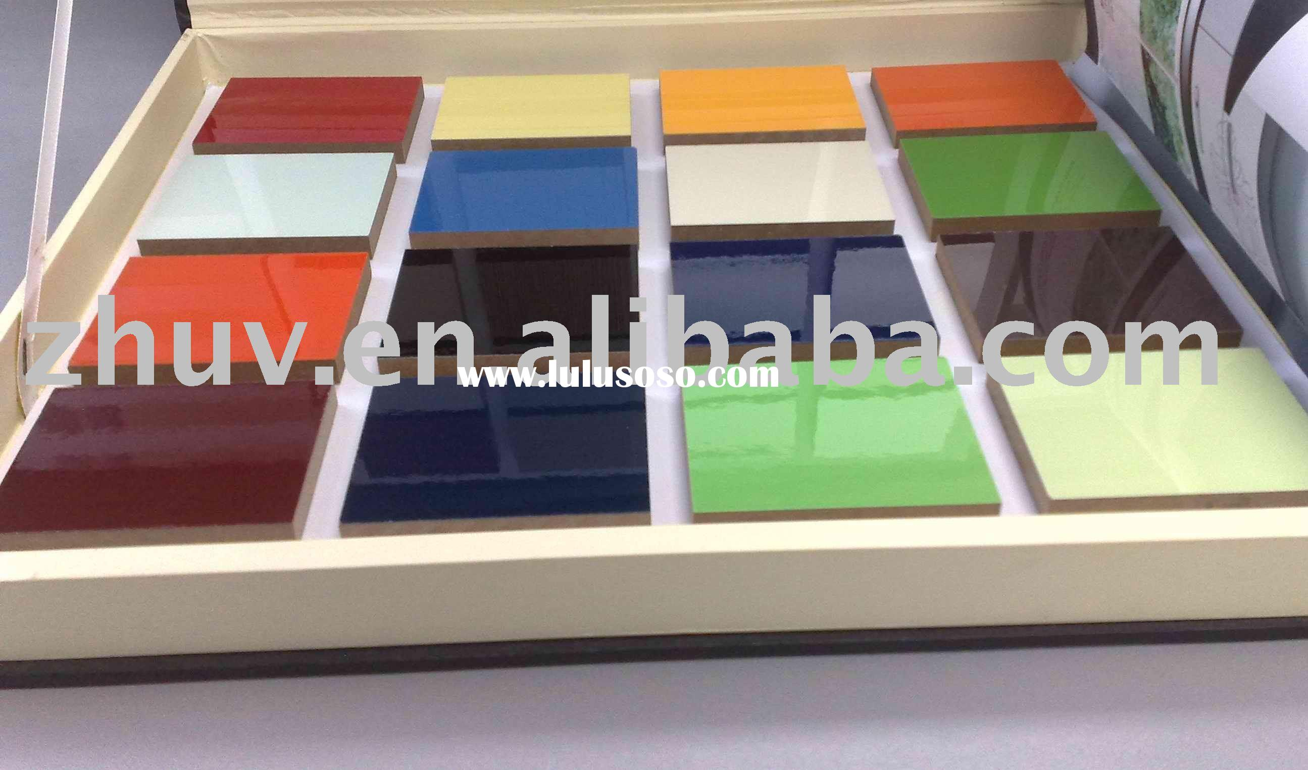 Kitchen Cabinet Doors Pvc Laminated Mdf Board mdf kitchen cabinet doors UV High Gloss MDF Panel MDF Board Ideal for Kitchen Cabinet Doors