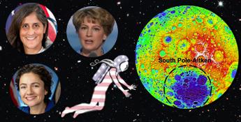 2017 Women on the Moon LED
