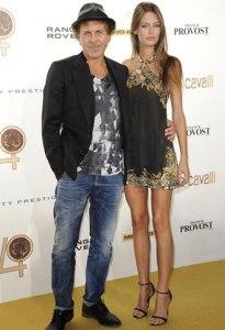 Renzo Rosso di Diesel e la top model Bianca Balti