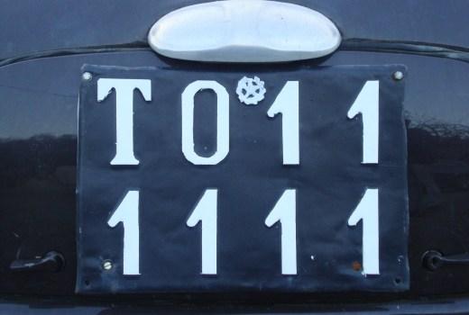 Targa Topolino  Mignanego TO111111